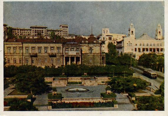 Баку, 1954 г.