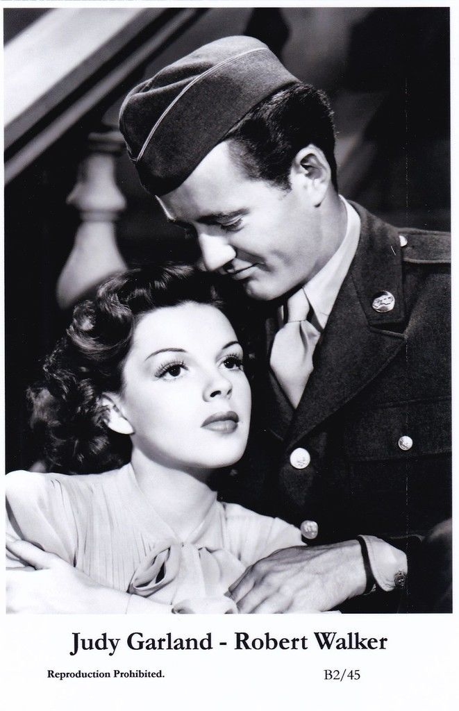 Judy Garland & Robert Walker